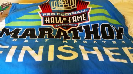 PFHOF Marathon Blanket