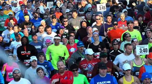 PFHOF Marathon Start