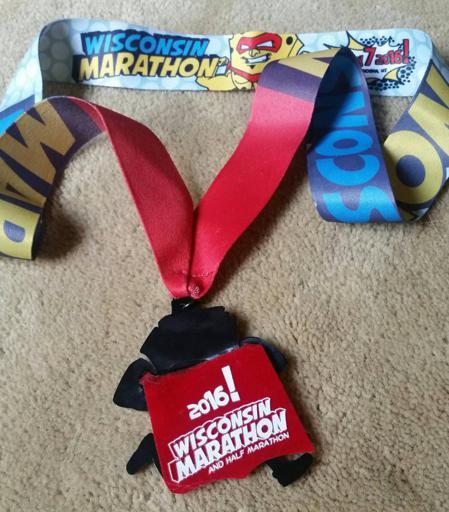 Wisconsin Marathon Medal 2