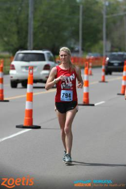 Running Kalamazoo Marathon 1