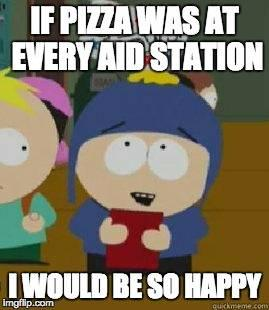 Ultrarunning Pizza Meme
