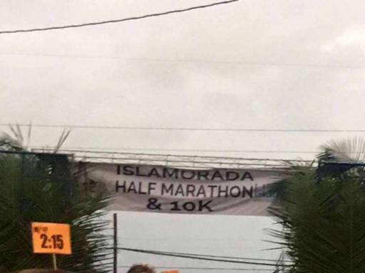 Islamorada Half Starting Line
