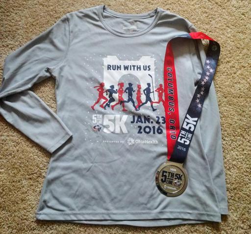 5th Line 5k 2016 Race Shirt