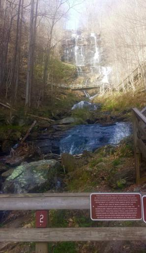 Amicalola Falls in the Daylight
