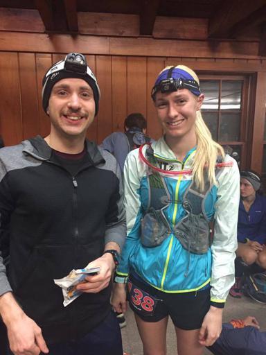 Matt and I before race