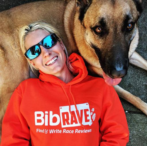 Laying on Dog wearing XX2i Optics Bahamas1 Sunglasses and Bibrave Sweatshirt