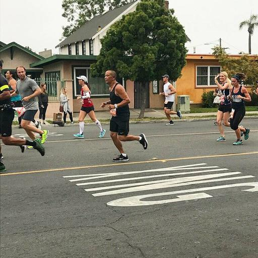 San Diego Rock n Roll Mile 6 of Marathon