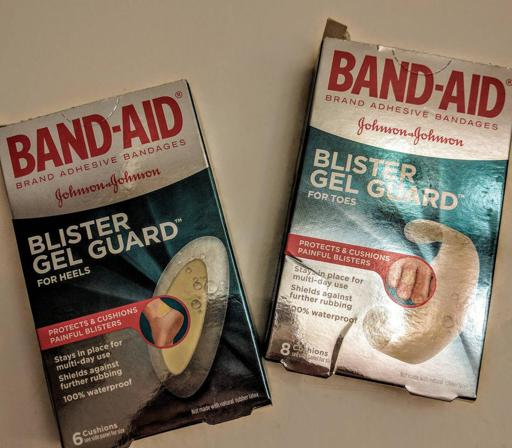 Band-Aid Blister Pads for Ultra Running