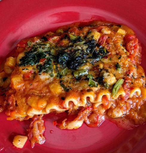 Luvo Inc. Frozen Meals Roasted Vegetable Lasagna