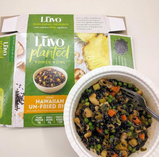 Luvo Inc. Frozen Meals Hawaiian Un-Fried Rice