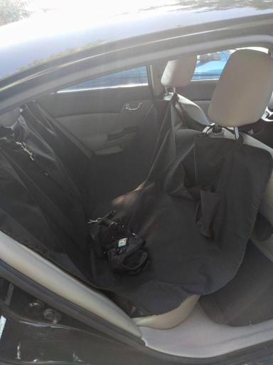 Go Buddy Hammock Style Waterproof Dog Car Seat Cover