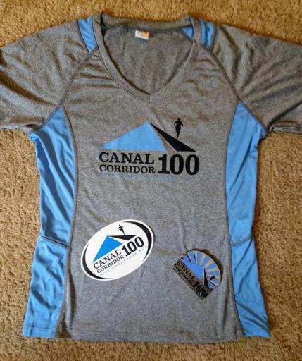 Canal Corridor 100 Shirt, Sticker, Belt Buckle 2017