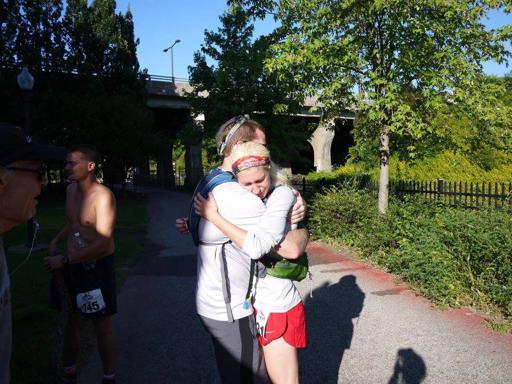 Canal Corridor 100 Finish Hug 2017