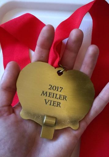 Oktoberfest Meiler Vier Back of Medal 2017