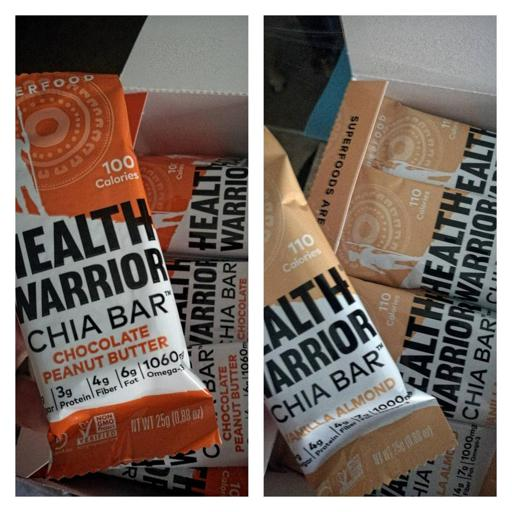 Health Warrior Chia Bar Flavors