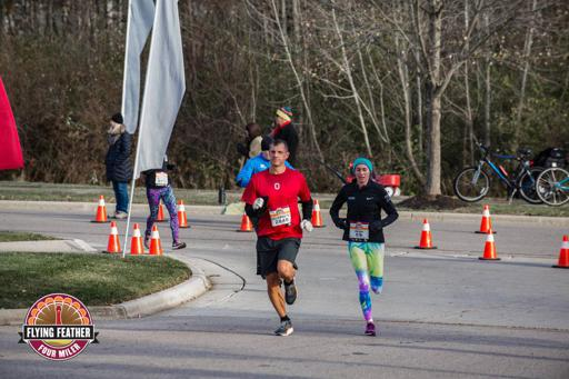 Flying Feather During Race Pic 2017