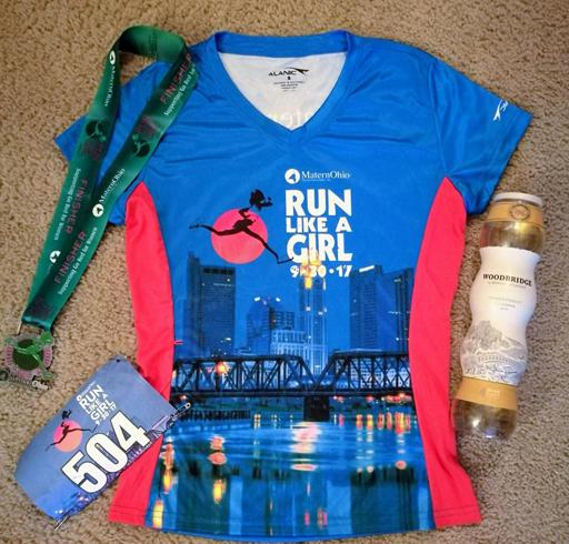 Run Like a Girl Columbus Race Gear 2017