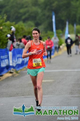 North Olympic Discovery Marathon 2018 Bibrave Pro Finishing