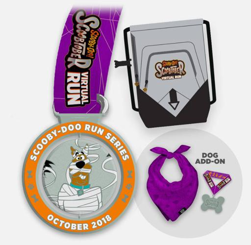 2018 Scoobtober 5k/10k Scooby Doo Virtual Run Series Swag